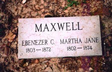 MAXWELL, MARTHA JANE - Benton County, Arkansas | MARTHA JANE MAXWELL - Arkansas Gravestone Photos