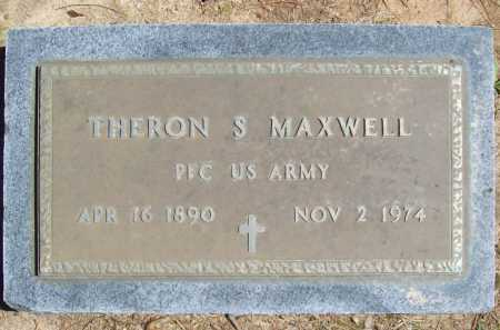 MAXWELL (VETERAN), THERON S. - Benton County, Arkansas   THERON S. MAXWELL (VETERAN) - Arkansas Gravestone Photos