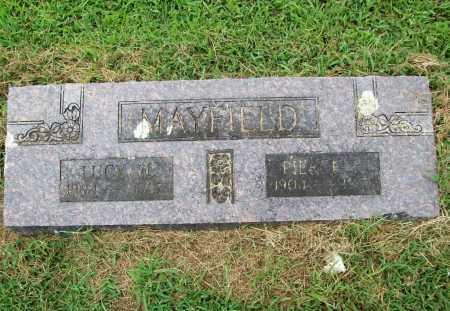 MAYFIELD, PIERCE H. - Benton County, Arkansas | PIERCE H. MAYFIELD - Arkansas Gravestone Photos