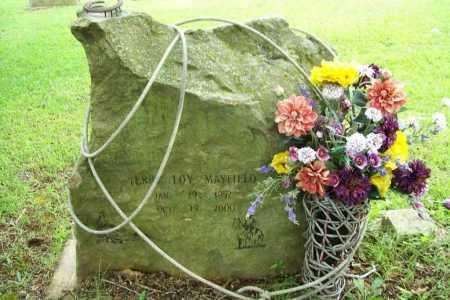 MAYFIELD, TERRY LOY - Benton County, Arkansas   TERRY LOY MAYFIELD - Arkansas Gravestone Photos
