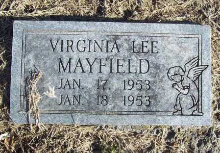 MAYFIELD, VIRGINIA LEE - Benton County, Arkansas   VIRGINIA LEE MAYFIELD - Arkansas Gravestone Photos