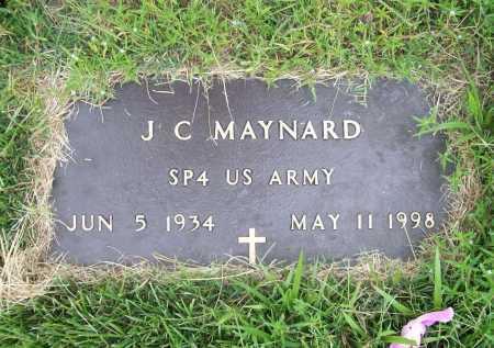 MAYNARD (VETERAN), J. C. - Benton County, Arkansas | J. C. MAYNARD (VETERAN) - Arkansas Gravestone Photos