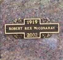 MCCONAHAY, ROBERT REX - Benton County, Arkansas   ROBERT REX MCCONAHAY - Arkansas Gravestone Photos