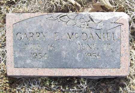 MCDANIEL, GARRY E. - Benton County, Arkansas | GARRY E. MCDANIEL - Arkansas Gravestone Photos