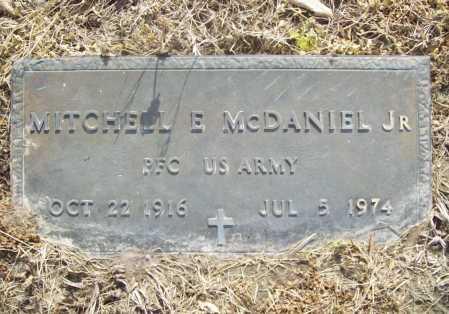 MCDANIEL (VETERAN), MITCHELL E. JR. - Benton County, Arkansas | MITCHELL E. JR. MCDANIEL (VETERAN) - Arkansas Gravestone Photos