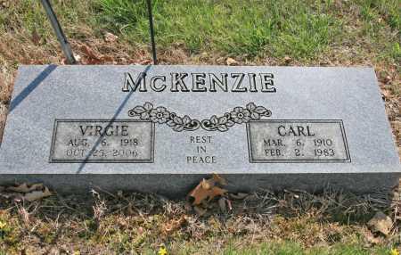 GUYLL MCKENZIE, VIRGIE - Benton County, Arkansas | VIRGIE GUYLL MCKENZIE - Arkansas Gravestone Photos