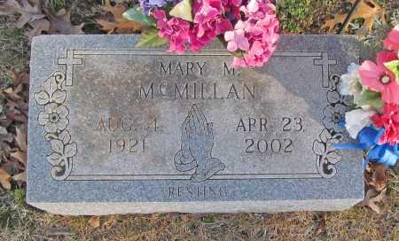 MCMILLAN, MARY MINNIE - Benton County, Arkansas   MARY MINNIE MCMILLAN - Arkansas Gravestone Photos