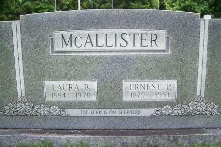 MCALLISTER, ERNEST P. - Benton County, Arkansas   ERNEST P. MCALLISTER - Arkansas Gravestone Photos