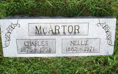 MCARTOR, CHARLES - Benton County, Arkansas   CHARLES MCARTOR - Arkansas Gravestone Photos