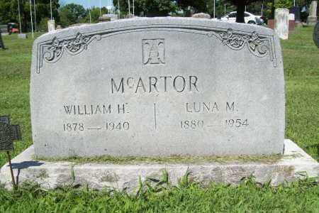 MCARTOR, WILLIAM H. - Benton County, Arkansas | WILLIAM H. MCARTOR - Arkansas Gravestone Photos
