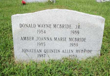 MCBRIDE, DONALD WAYNE - Benton County, Arkansas | DONALD WAYNE MCBRIDE - Arkansas Gravestone Photos