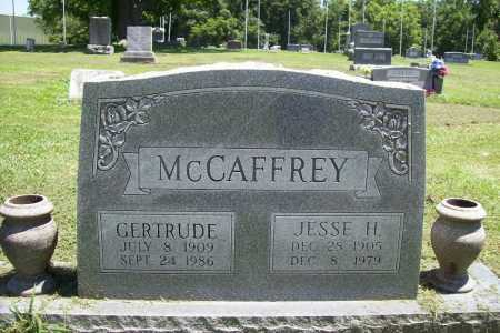 MCCAFFREY, JESSE H. - Benton County, Arkansas | JESSE H. MCCAFFREY - Arkansas Gravestone Photos
