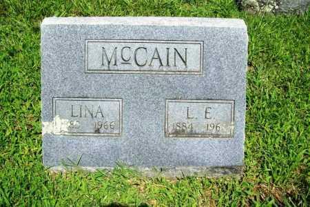 MCCAIN, LINA - Benton County, Arkansas | LINA MCCAIN - Arkansas Gravestone Photos