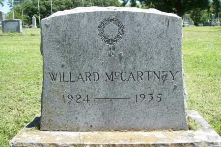 MCCARTNEY, WILLARD - Benton County, Arkansas | WILLARD MCCARTNEY - Arkansas Gravestone Photos