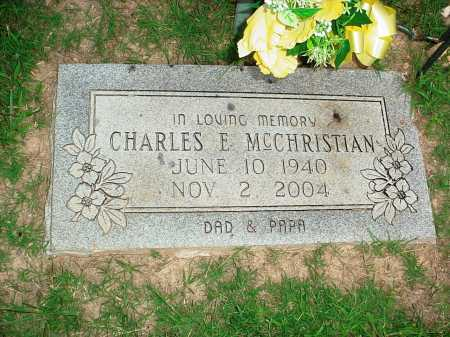 MCCHRISTIAN, CHARLES EUGENE - Benton County, Arkansas | CHARLES EUGENE MCCHRISTIAN - Arkansas Gravestone Photos
