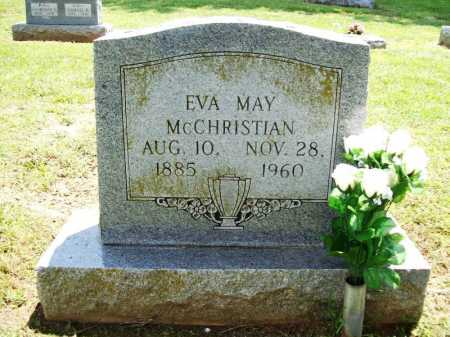 MCCHRISTIAN, EVA MAY - Benton County, Arkansas   EVA MAY MCCHRISTIAN - Arkansas Gravestone Photos