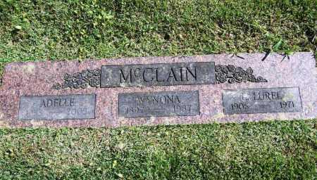 MCCLAIN, WYNONA ADELLE - Benton County, Arkansas | WYNONA ADELLE MCCLAIN - Arkansas Gravestone Photos