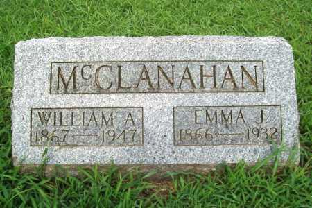 MCCLANAHAN, EMMA J. - Benton County, Arkansas | EMMA J. MCCLANAHAN - Arkansas Gravestone Photos