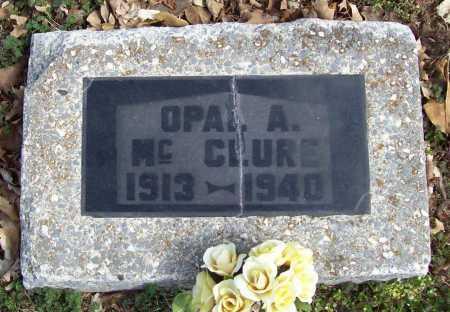 MCCLURE, OPAL. A. - Benton County, Arkansas   OPAL. A. MCCLURE - Arkansas Gravestone Photos