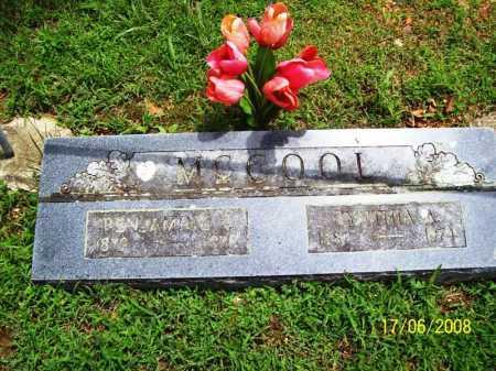 MCCOOL, CYNTHIA ANN - Benton County, Arkansas | CYNTHIA ANN MCCOOL - Arkansas Gravestone Photos