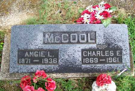 MCCOOL, CHARLES E. - Benton County, Arkansas | CHARLES E. MCCOOL - Arkansas Gravestone Photos