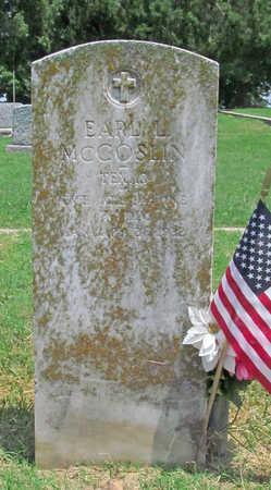 MCCOSLIN (VETERAN), EARL LEE - Benton County, Arkansas   EARL LEE MCCOSLIN (VETERAN) - Arkansas Gravestone Photos