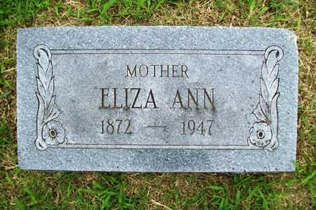 MCCUMBER, ELIZA ANN - Benton County, Arkansas | ELIZA ANN MCCUMBER - Arkansas Gravestone Photos