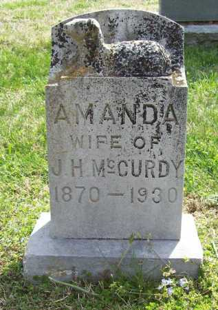 MCCURDY, AMANDA - Benton County, Arkansas | AMANDA MCCURDY - Arkansas Gravestone Photos