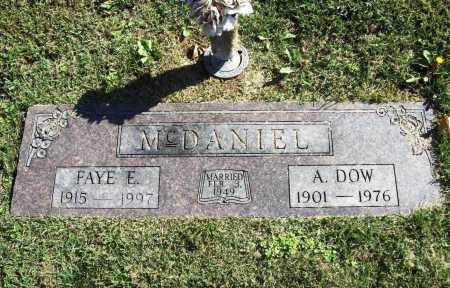 MCDANIEL, FAYE E. - Benton County, Arkansas | FAYE E. MCDANIEL - Arkansas Gravestone Photos