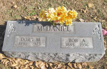 MCDANIEL, BOB A. - Benton County, Arkansas | BOB A. MCDANIEL - Arkansas Gravestone Photos