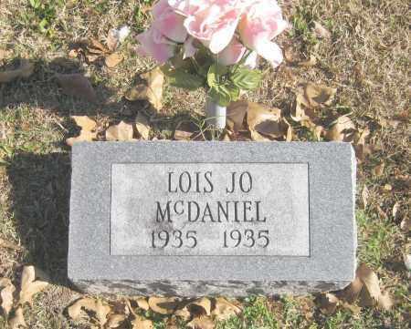 MCDANIEL, LOIS JO - Benton County, Arkansas | LOIS JO MCDANIEL - Arkansas Gravestone Photos