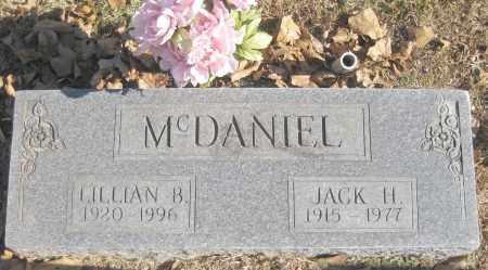 MCDANIEL, JACK H. - Benton County, Arkansas | JACK H. MCDANIEL - Arkansas Gravestone Photos
