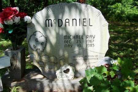 MCDANIEL, MICHAEL RAY - Benton County, Arkansas   MICHAEL RAY MCDANIEL - Arkansas Gravestone Photos