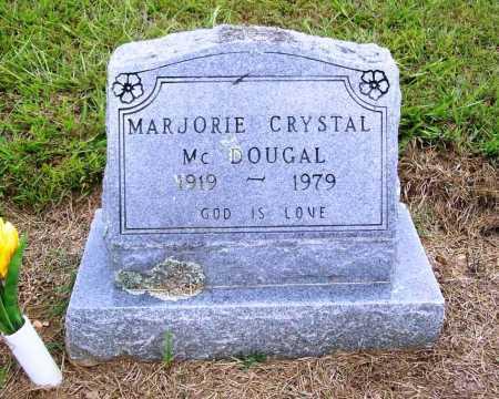 MCDOUGAL, MARJORIE CRYSTAL - Benton County, Arkansas | MARJORIE CRYSTAL MCDOUGAL - Arkansas Gravestone Photos