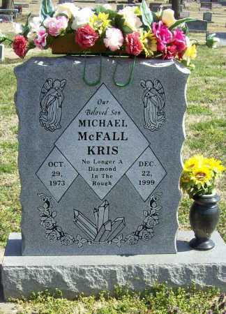 MCFALL, MICHAEL KRIS - Benton County, Arkansas   MICHAEL KRIS MCFALL - Arkansas Gravestone Photos