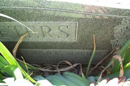 MCFEETERS, FRANCIS MARION - Benton County, Arkansas | FRANCIS MARION MCFEETERS - Arkansas Gravestone Photos