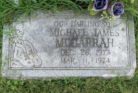 MCGARRAH, MICHAEL JAMES - Benton County, Arkansas | MICHAEL JAMES MCGARRAH - Arkansas Gravestone Photos