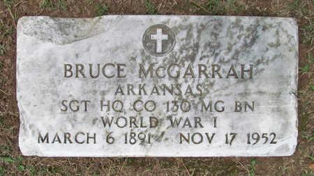 MCGARRAH (VETERAN WWI), BRUCE - Benton County, Arkansas | BRUCE MCGARRAH (VETERAN WWI) - Arkansas Gravestone Photos