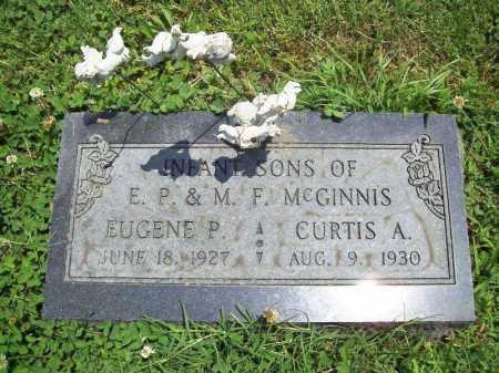 MCGINNIS, CURTIS A. - Benton County, Arkansas | CURTIS A. MCGINNIS - Arkansas Gravestone Photos