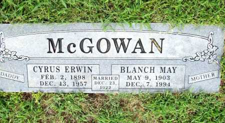 MCGOWAN, BLANCH MAY - Benton County, Arkansas | BLANCH MAY MCGOWAN - Arkansas Gravestone Photos