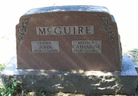 MCGUIRE, CATHERINE - Benton County, Arkansas | CATHERINE MCGUIRE - Arkansas Gravestone Photos