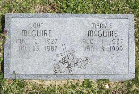 MCGUIRE, JOHN - Benton County, Arkansas | JOHN MCGUIRE - Arkansas Gravestone Photos