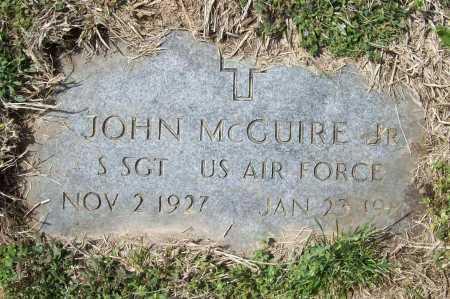 MCGUIRE (VETERAN), JOHN - Benton County, Arkansas | JOHN MCGUIRE (VETERAN) - Arkansas Gravestone Photos