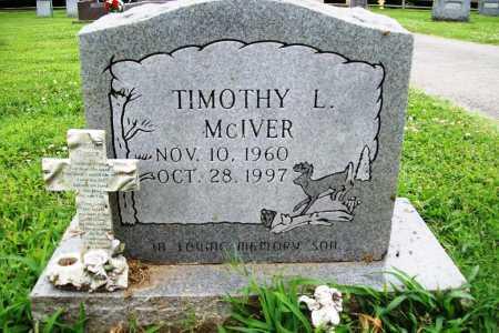 MCIVER, TIMOTHY L. - Benton County, Arkansas   TIMOTHY L. MCIVER - Arkansas Gravestone Photos