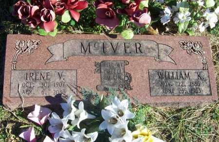 MCIVER, IRENE V. - Benton County, Arkansas | IRENE V. MCIVER - Arkansas Gravestone Photos