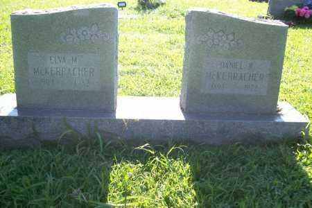 MCKERRACHER, DANIEL W. - Benton County, Arkansas | DANIEL W. MCKERRACHER - Arkansas Gravestone Photos