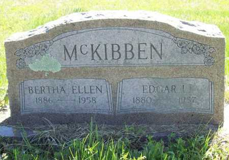MCKIBBEN, BERTHA ELLEN - Benton County, Arkansas   BERTHA ELLEN MCKIBBEN - Arkansas Gravestone Photos