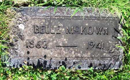 MCKOWN, BELLE - Benton County, Arkansas   BELLE MCKOWN - Arkansas Gravestone Photos