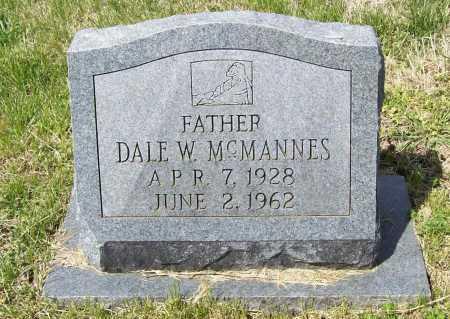 MCMANNES, DALE W. - Benton County, Arkansas | DALE W. MCMANNES - Arkansas Gravestone Photos