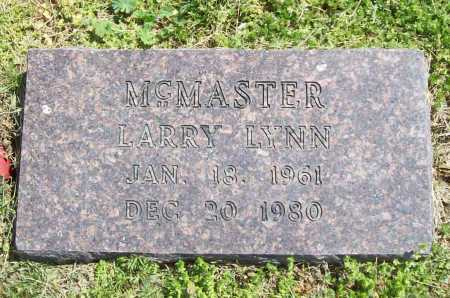MCMASTER, LARRY LYNN - Benton County, Arkansas | LARRY LYNN MCMASTER - Arkansas Gravestone Photos
